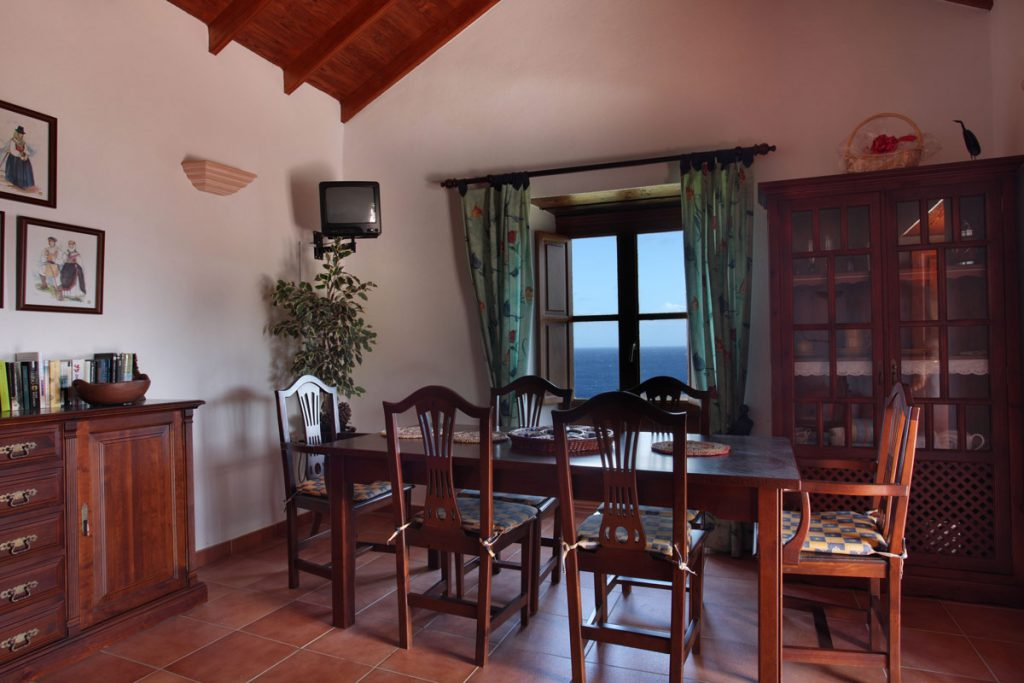 living room with sea view, El Hierro